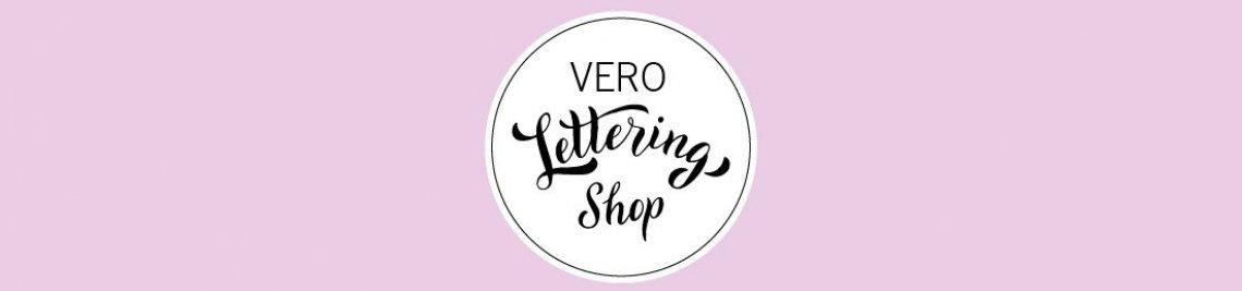 Vero Lettering Shop Profile Banner