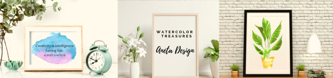 AnetaDesign Profile Banner