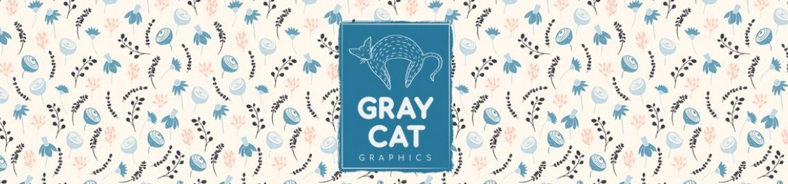 Gray Cat Graphics Profile Banner