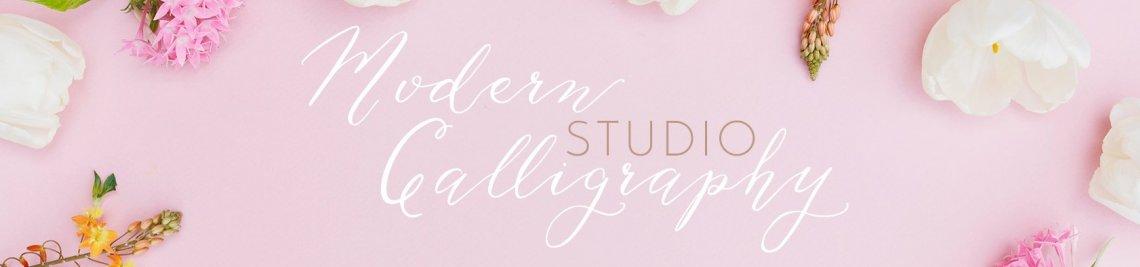 Modern Calligraphy Studio Profile Banner