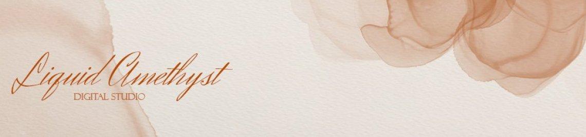 Liquid Amethyst Art Profile Banner