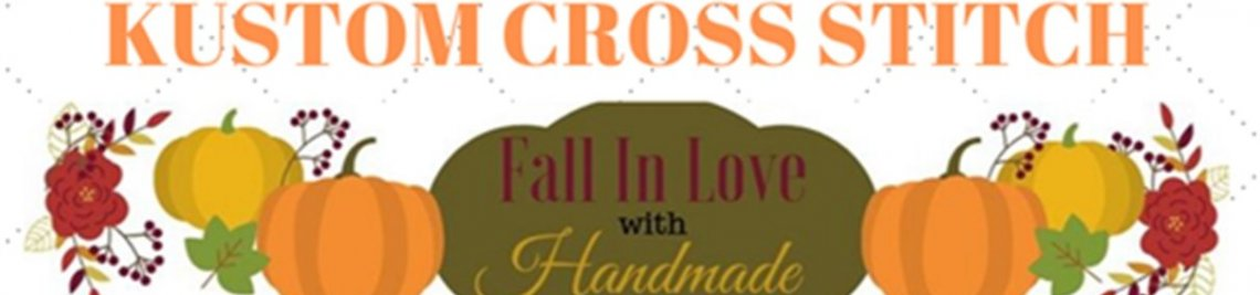 Kustom Cross Stitch Profile Banner