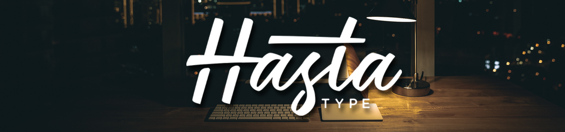 Hasta Type Profile Banner