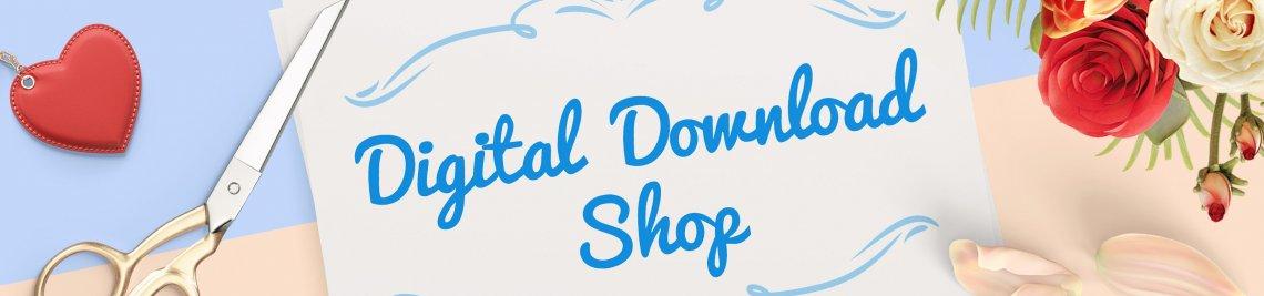 Digital Download Shop Profile Banner