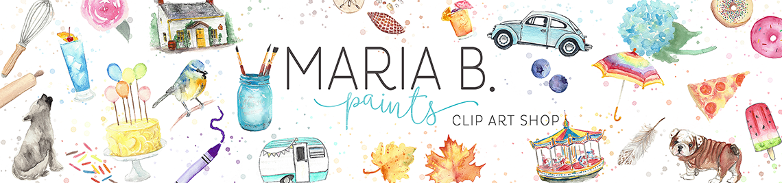 Maria B. Paints Profile Banner