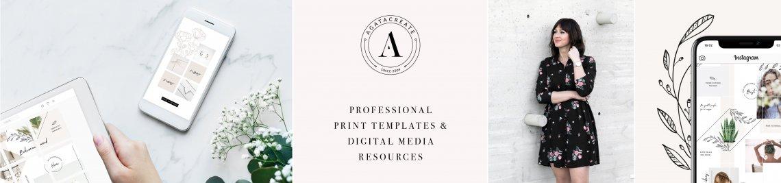 AgataCreate Profile Banner