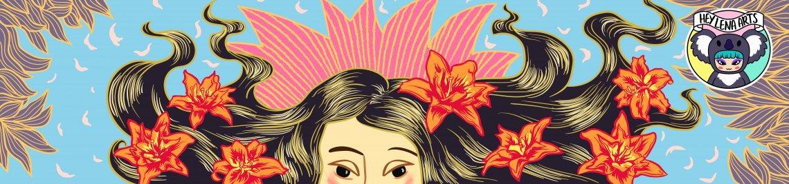 HeyLenaArts Profile Banner