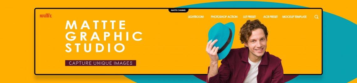 Mattte Studio Profile Banner