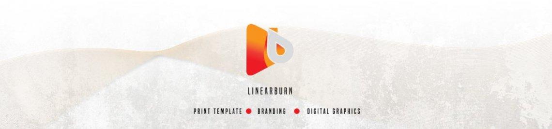 Linear Burn Profile Banner