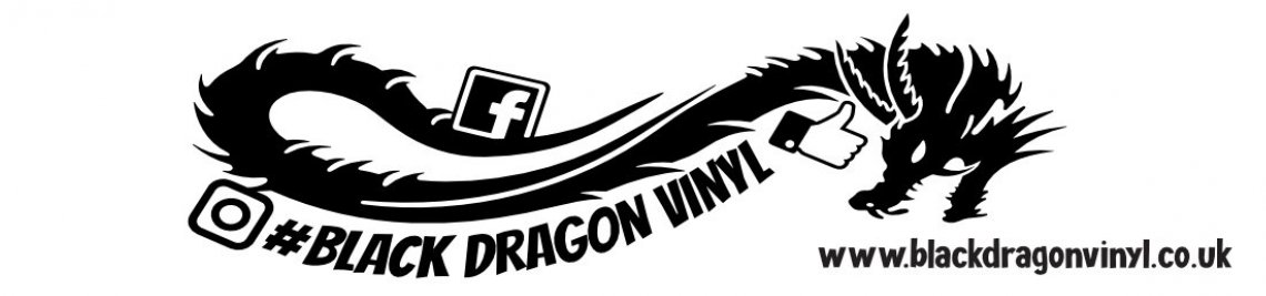 Black Dragon Vinyl Profile Banner