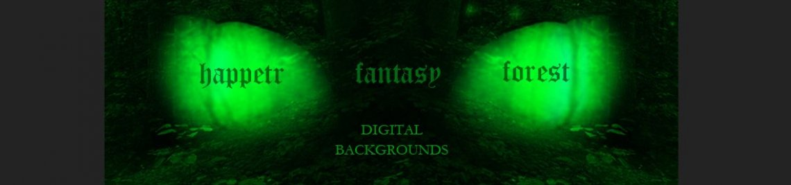 Happetr Fantasy Forest Profile Banner