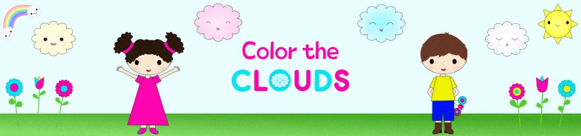 Color the Clouds Profile Banner