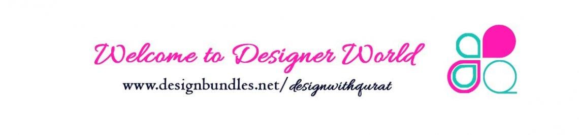 DesignwithQurat Profile Banner