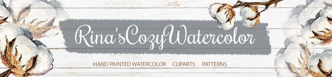 Rina'sCozyWatercolor Profile Banner