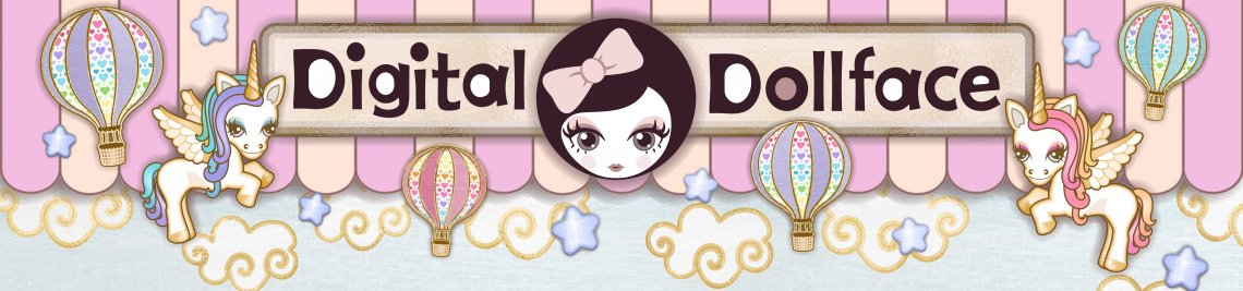 Digital Dollface Profile Banner