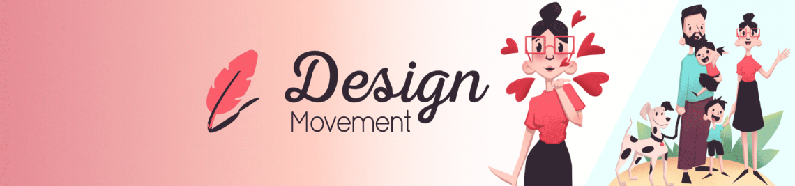 Design Movement Profile Banner