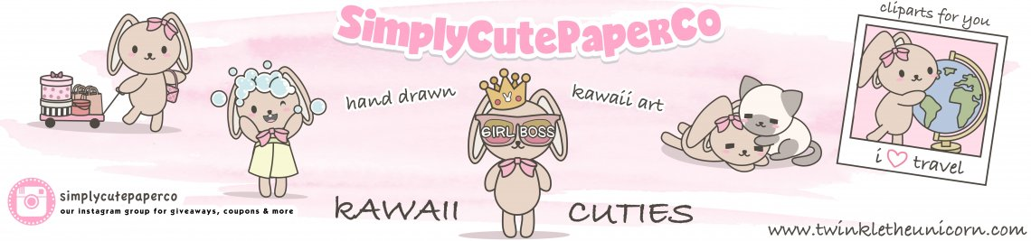 SimplyCutePaperCo Profile Banner
