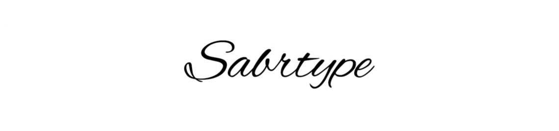 Sabrtype Studio Profile Banner