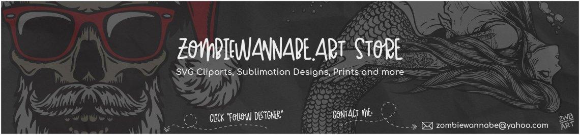 Zombiewannabe Art Store Profile Banner