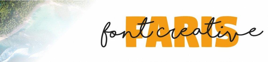 Faris Fonts Creative Profile Banner