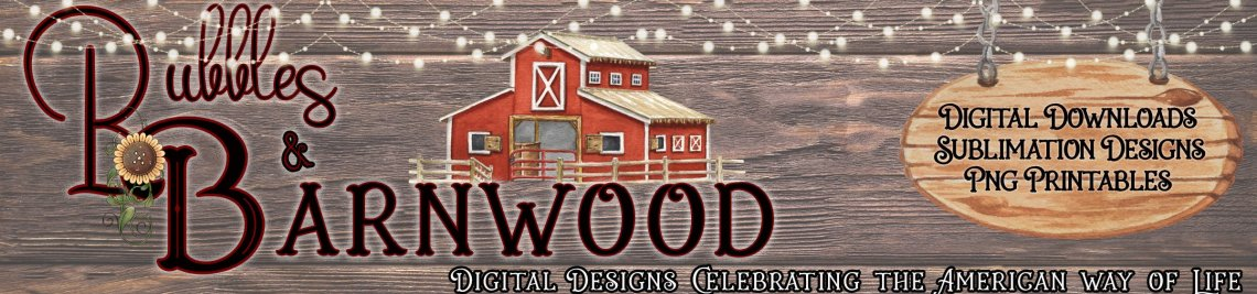Bubbles and Barnwood Profile Banner