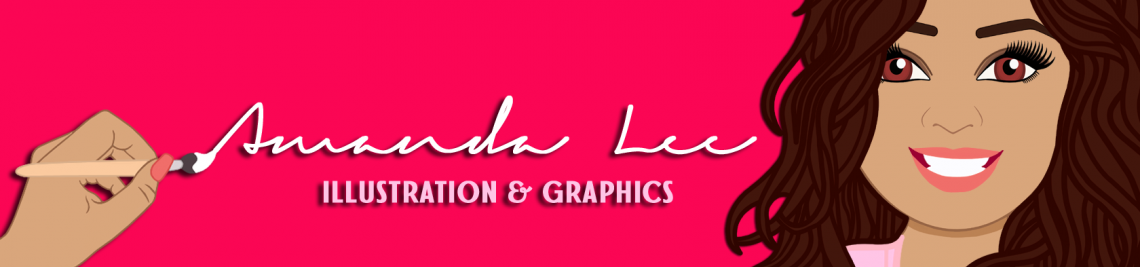 Amanda Lee Illustration & Graphics Profile Banner