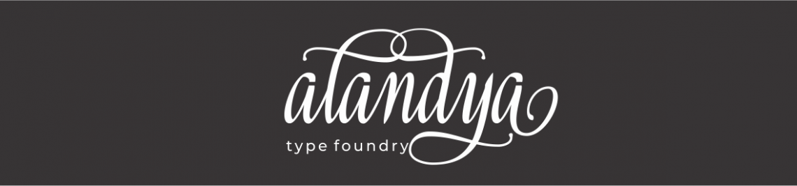 Alandya TypeFoundry Profile Banner