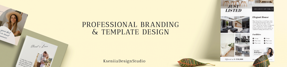 KseniiaDesignShop Profile Banner