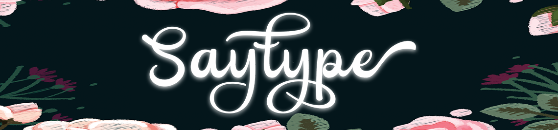 SayType Profile Banner