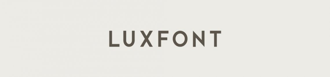 Luxfont Profile Banner