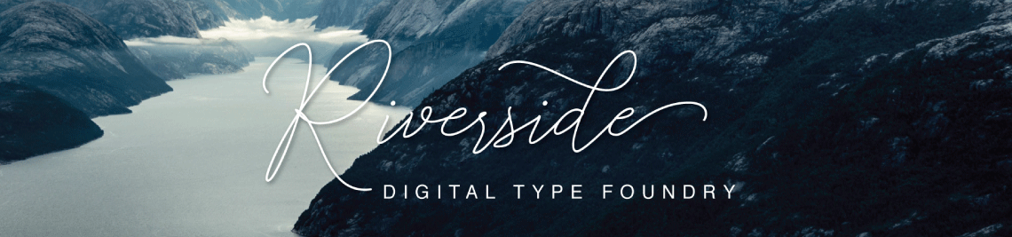 Riverside Digital Type Foundry Profile Banner
