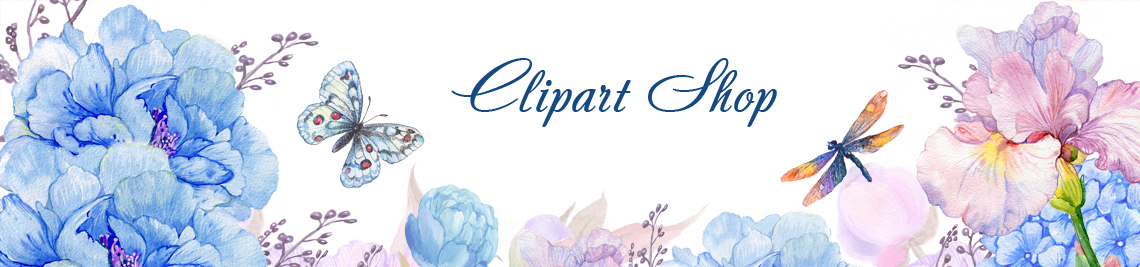 Clipart Shop Profile Banner