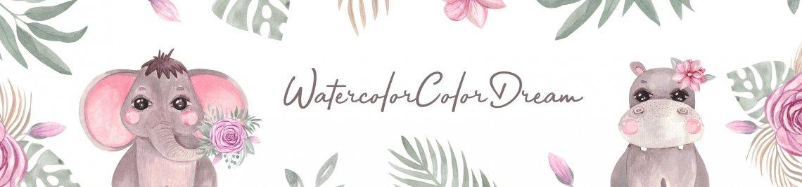 WatercolorColorDream Profile Banner