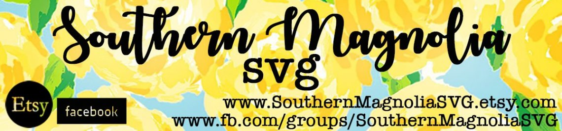 Southern Magnolia SVG Profile Banner