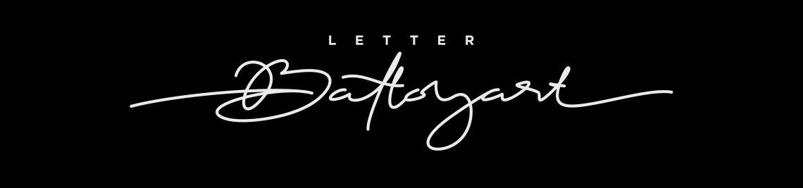 Letter Battoyart Profile Banner