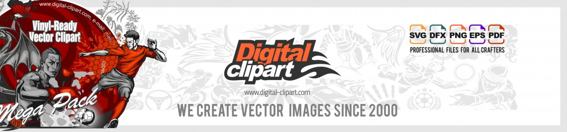 Digital-Clipart Profile Banner