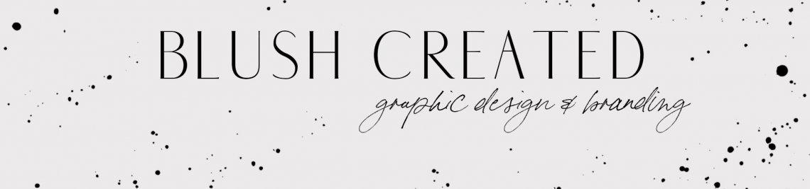 Blush Created Profile Banner