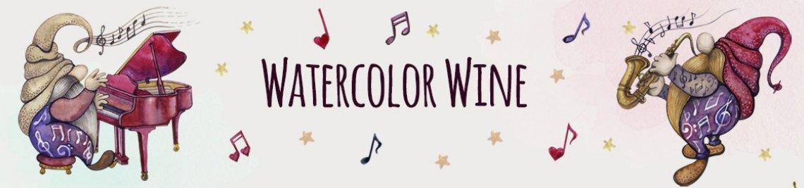 WatercolorWine Profile Banner
