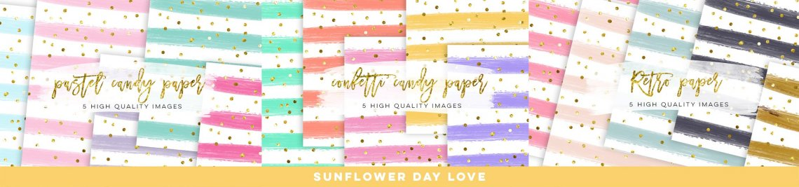 Sunflower Day Love Profile Banner