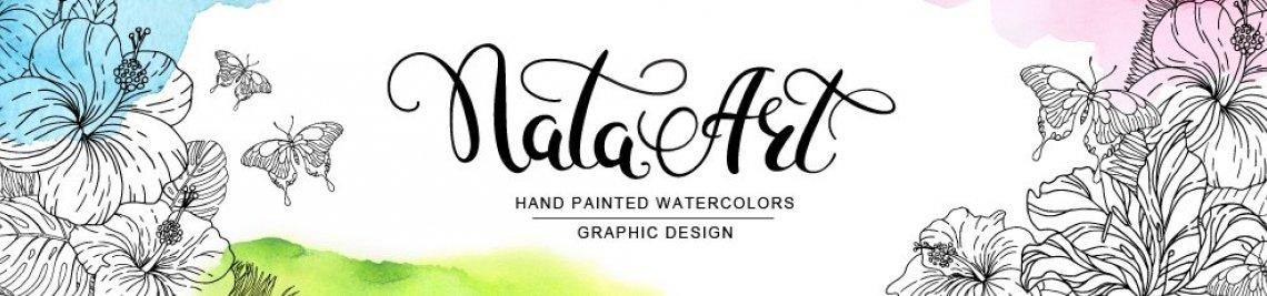 Nata Art Graphic Profile Banner