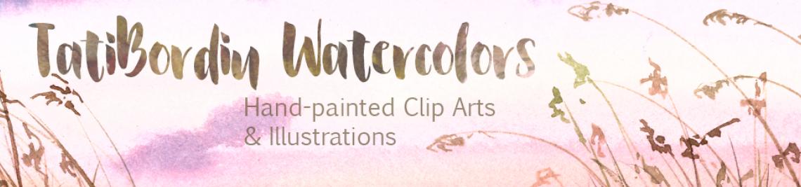 TatiBordiu Watercolors Profile Banner