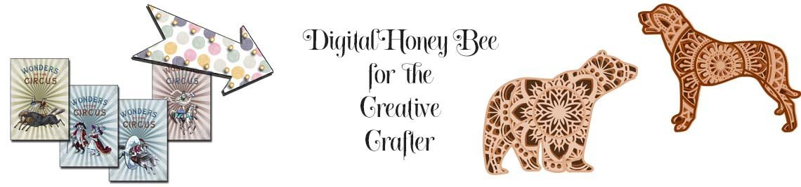 Digital Honey Bee Profile Banner