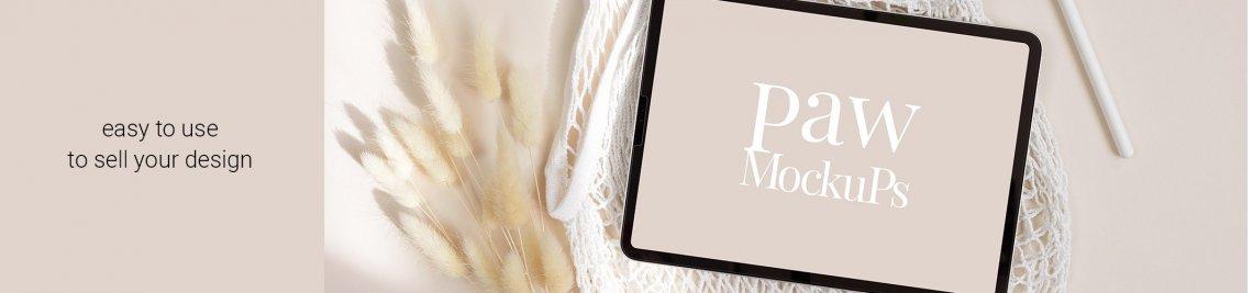 PAW Mockups Profile Banner
