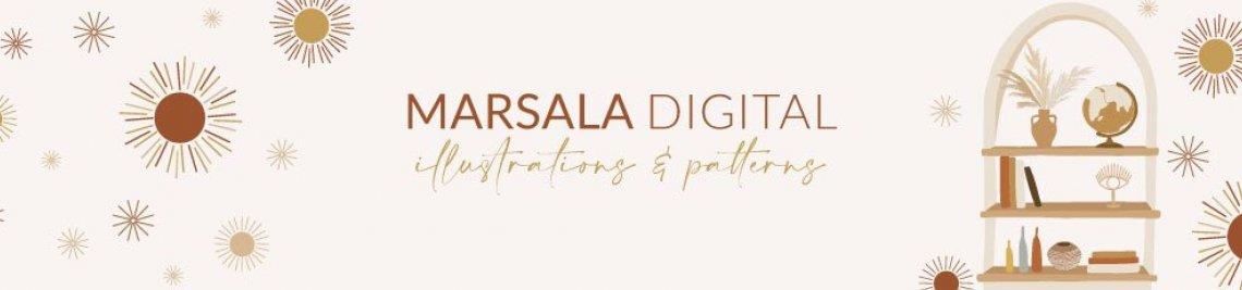 Marsala Digital Profile Banner