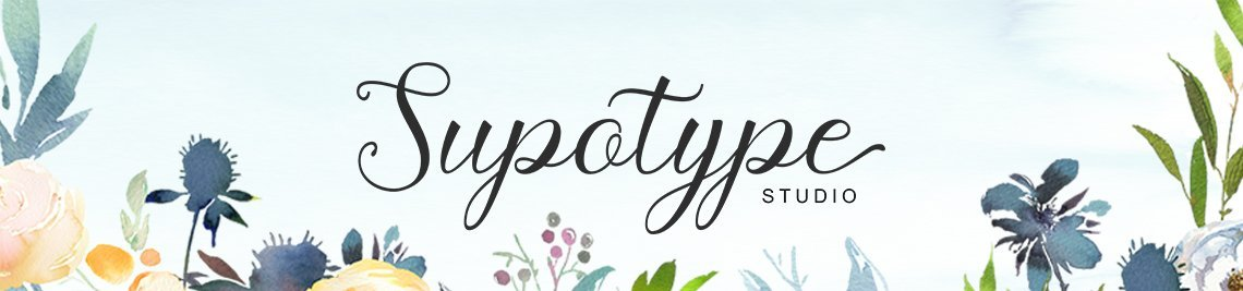 Supotype Profile Banner