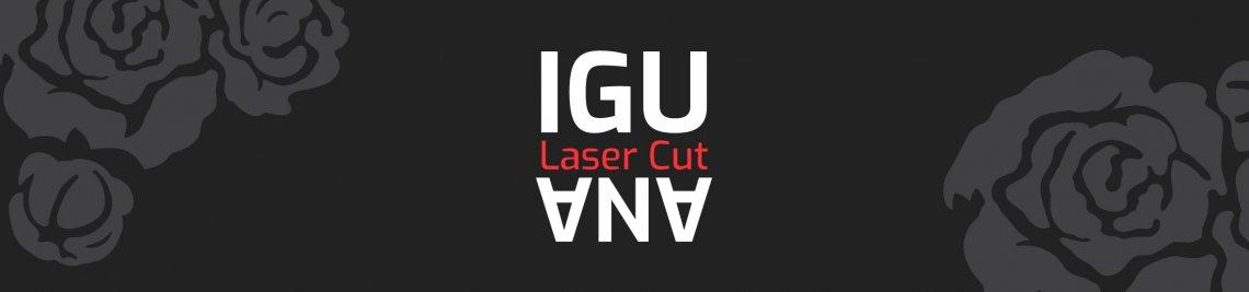 IGUANA Laser Cut Profile Banner