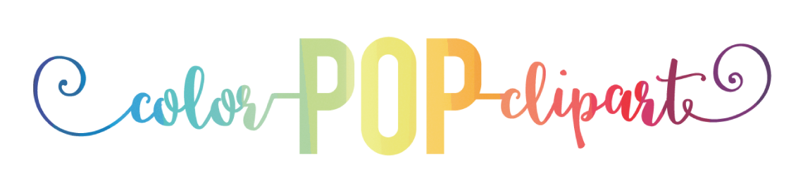 Color Pop Clipart Profile Banner