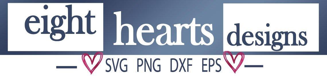 Eight Hearts Designs Profile Banner