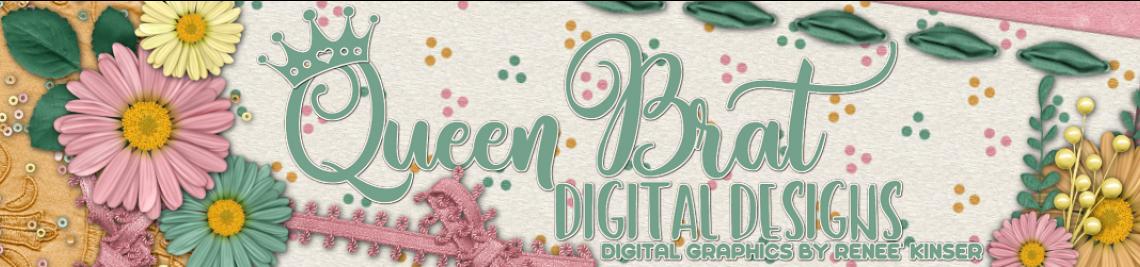 QueenBrat Digital Designs Profile Banner
