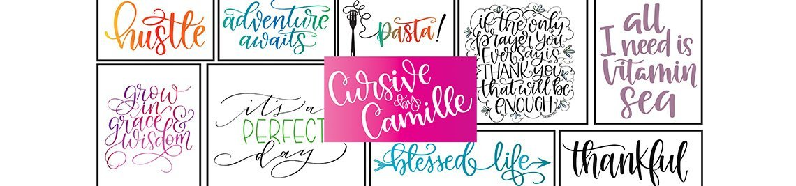 Cursive By Camille Profile Banner